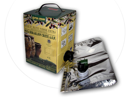 Bag-in-Box for edible oil